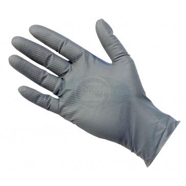Grey Powder Free Nitrile Gloves