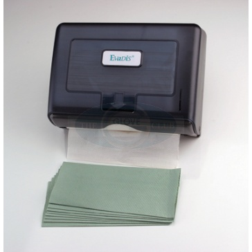C-Fold Hand Towels 1-ply Green - Case Of 2800