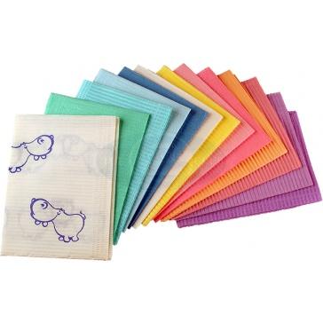 Waterproof Disposable Dental Bibs - 500 Bibs