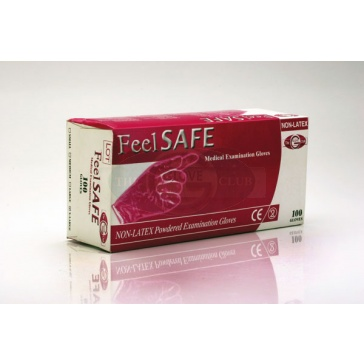 Feelsafe Powder Free PVC Gloves - Medium - 50 Gloves