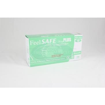 Feelsafe Powder Free Vinyl Gloves - 100 Gloves