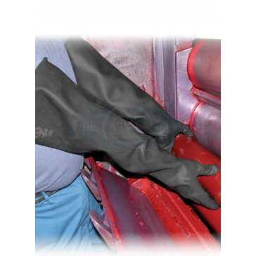 Extra Long Heavy Duty Rubber Gloves