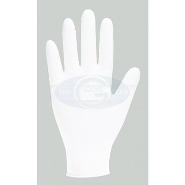 GN92 White Nitrile Powder Free Examination Gloves x 200