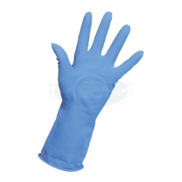 Household Rubber Gloves Blue - 1 Pair