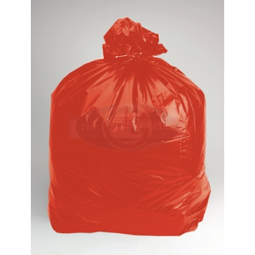 Red Soluble Laundry Sacks - Pack Of 50