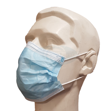 3ply Earloop or Tie-On Face Masks - EN14683 Type II