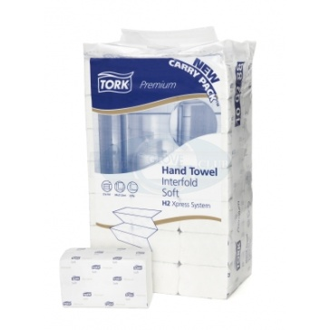 Tork Premium Interfold Hand Towels 100297 - Case Of 2100