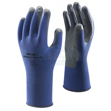 Showa 380 Foam Nitrile High Grip Gloves
