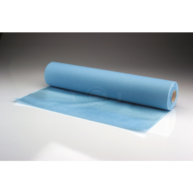 Waterproof Couch Rolls 2 Ply Paper 1 Ply Poly Blue