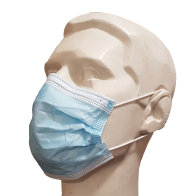 3ply Earloop or Tie-On Face Masks - EN14683 Type II