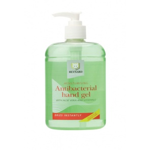 Moisturising Antibacterial Hand Gel x 500ml Bottle