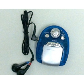 Mini FM Auto Scan Radio With Light