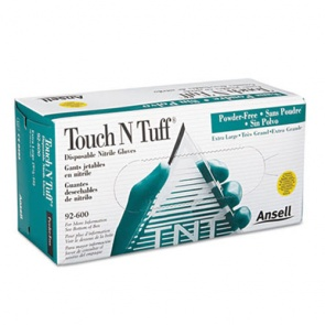 Ansell Touch N Tuff 92-600 - 100 Gloves