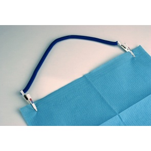Dental Bib Clip Blue