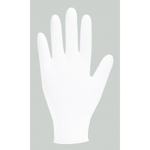 GN92 White Nitrile Powder Free Examination Gloves x 200