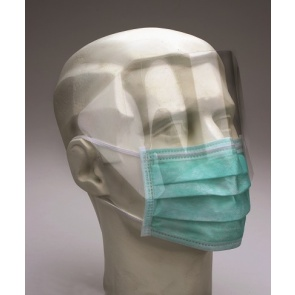 Medicom Safe Mask Pro-Shield - Face Mask with Visor x 25