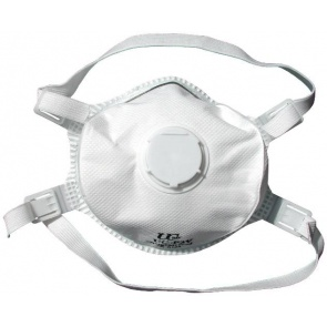 FFP3 Masks with Valve x 5