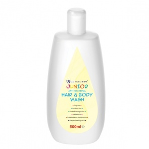 Bodyguards Antibacterial Hair & Body Wash (Junior)