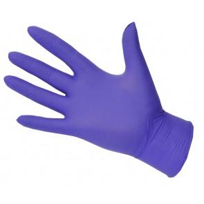 Purple Nitrile Powder Free Extra Large - 100 gloves