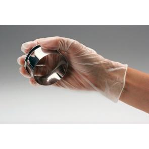 Clear Powdered Vinyl Gloves