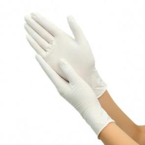 White Nitrile Powder Free Small - 100 gloves